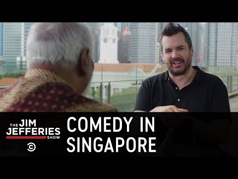 How Restrictive Is It to Be a Comedian in Singapore?  - The Jim Jefferies Show