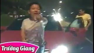 Xôn xao clip Trường Giang tranh cãi sau khi va chạm xe trong đêm