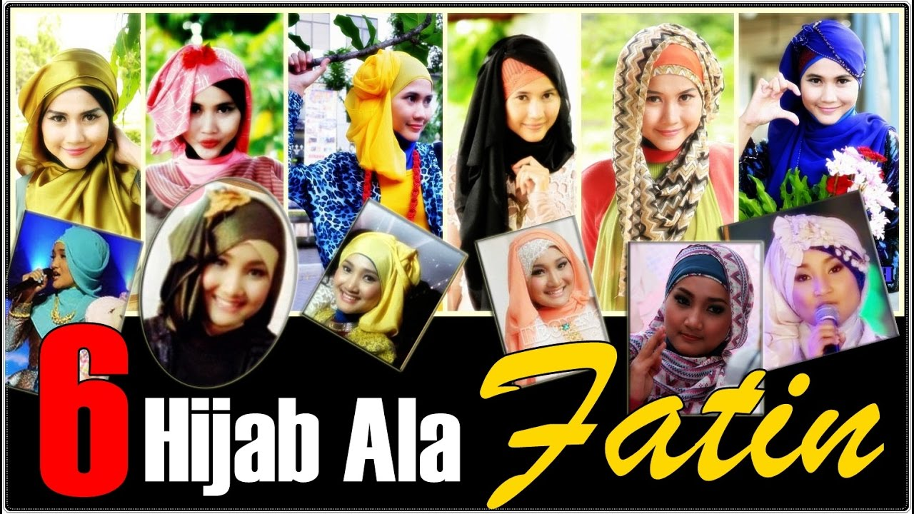 Kompilasi Tutorial Hijab Fatin Shidqia 1 Youtube