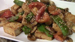 Vegan/vegetarian Stir Fry With Tofu
