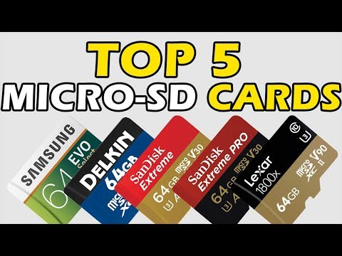 5 Best Micro SD Cards 2019