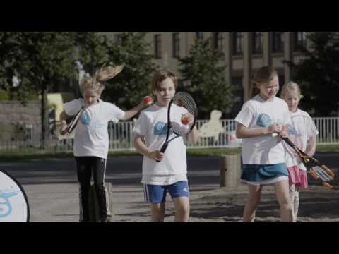 Henri Kontinen & LähiTapiola Street Tennis