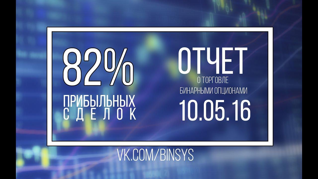 82% прибыльных сделок/Отчет за 10 05 2019 | отчеты торговли на бинарных опционах