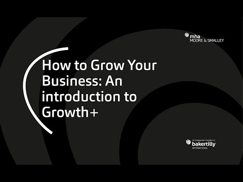 How to Grow Your Business: An Introduction to Growth+