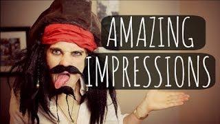 AMAZING IMPRESSIONS | ThatcherJoe