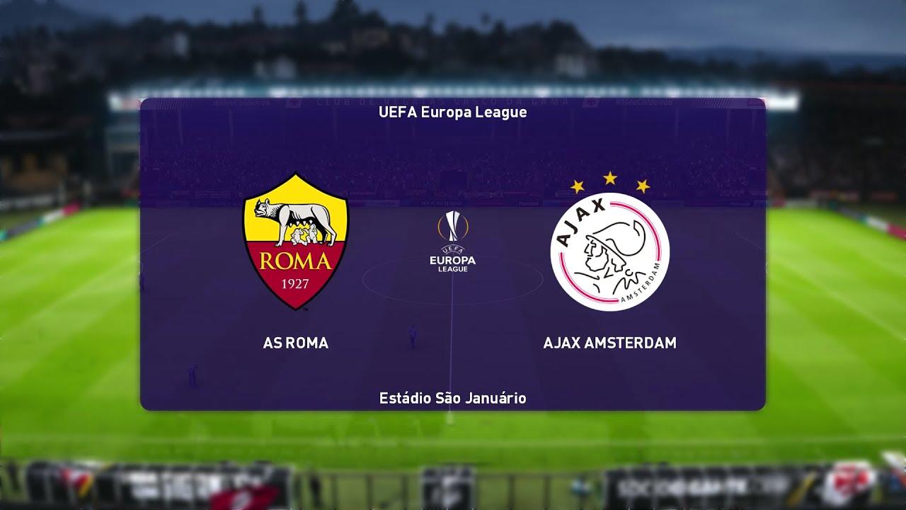 ⚽ Roma vs Ajax ⚽   UEFA Europa League (15/04/2021)