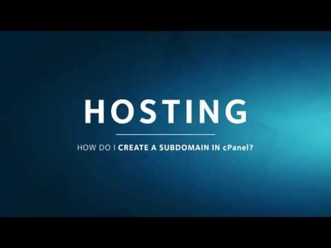 HOSTING | How to Create a Subdomain in cPanel