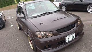 видео Mazda demio 2001 тюнинг