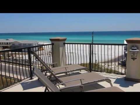 Santa Rosa Beach Florida 6BR Gulf View Vacation Rental Home,