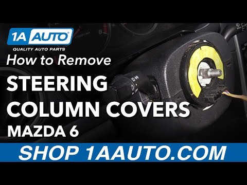 How To Remove Steering Column Covers 02-07 Mazda 6