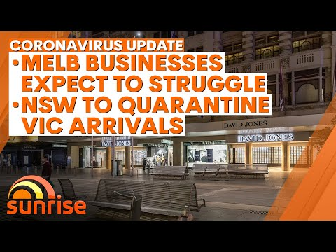Coronavirus Update - August 6: Melbourne Businesses Expect To Struggle; New NSW Restrictions | 7NEWS