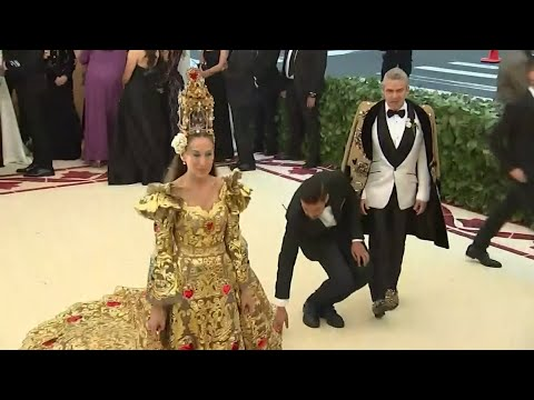 Divine designs grace Met Gala carpet