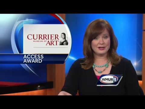 Currier Museum of Art receives award for accessibility for visually impaired visitors