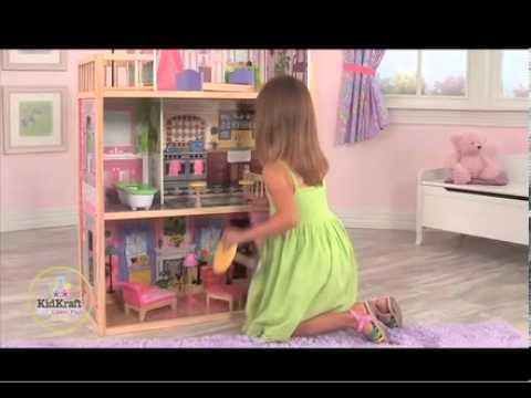 65092 Kidkraft Kayla Dollhouse - YouTube