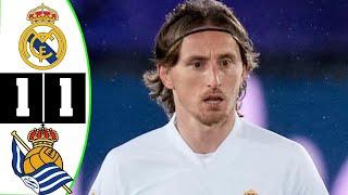 Реал Сосьедад Реал Мадрид 1 1 Обзор Матча Чемпионата Испании 01 03 2021 HD