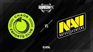 Natus Vincere vs. Chaos - Bank - Rainbow Six Pro League - Season X - EU