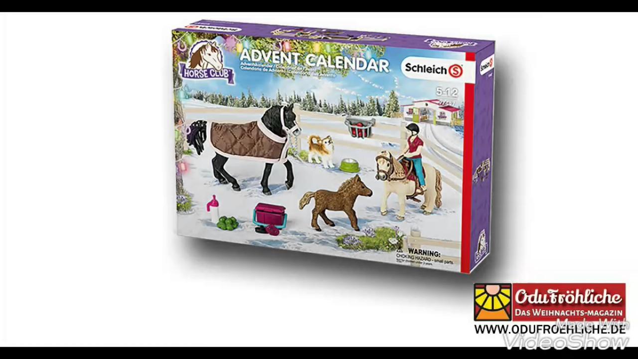 Who Created Advent Calendar Family Advent Calendar 2017 Usccborg Schleichpferde Adventskalender 2017 Reitplatz Youtube
