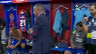 Calentamiento SD Eibar vs FC Barcelona