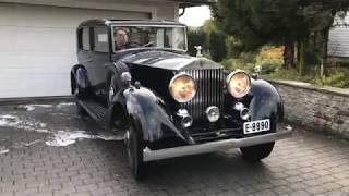 Rolls Royce 20-25 Park Ward 1934 driving