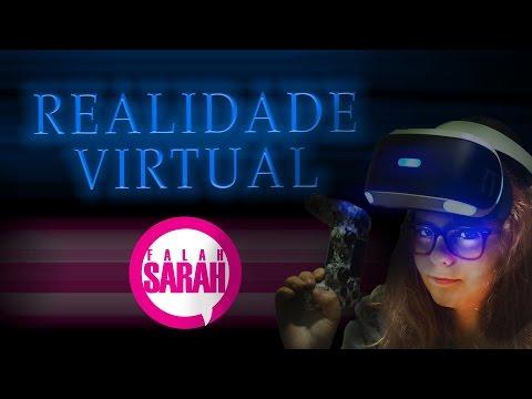 FALAH SARAH - TESTANDO ÓCULOS VR PS4