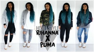 One of Vanessa D's most viewed videos: HOW I STYLE RIHANNA'S PUMA CREEPERS | vanessardnls