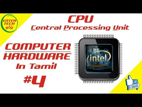 Parts Of Computer Processor Explanation #4 | Computer Hardware Course in Tamil | EnterTech Tamil