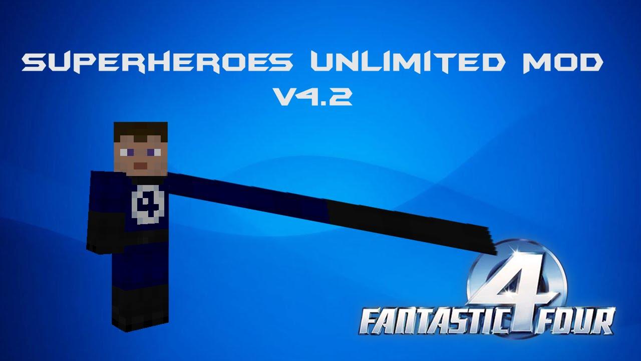 майнкрафт мод 1.7 10 superheroes