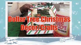 4 Dollar Tree Christmas Décor/ DIY Christmas Crafts| Elegant Glam 2019 Christmas DIY