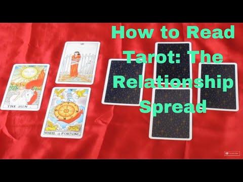 Tarot Reading Mini-lesson ~ The Relationship Spread