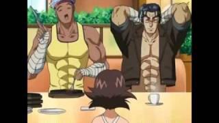 shijou saikyou no deshi Kenichi Glare knocking down(にらみたおし) thumbnail