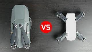 DJI Spark vs DJI Mavic Pro - What's the Best Compact Drone thumbnail