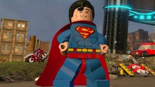 LEGO Dimensions - Superman Open World Free Roam (Character Showcase)