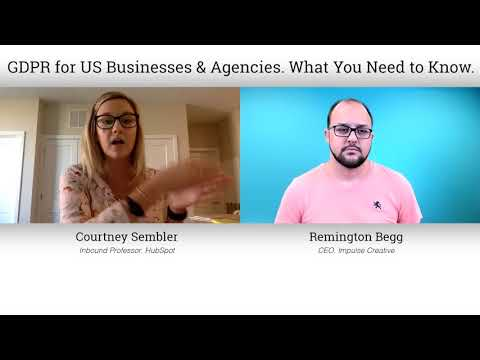 [Interview] GDPR for US Businesses & Agencies. What You Need to Know