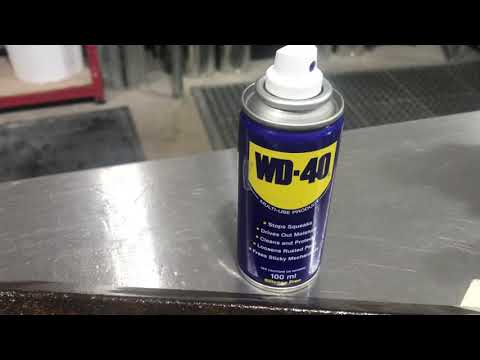 Jenolite v WD40 - How To Treat And Remove Rust.