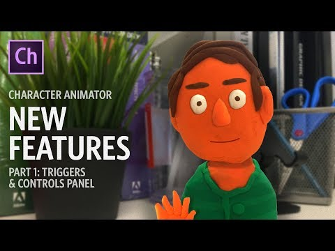 Character Animator New Features (Part 1: Triggers & Controls Panel)