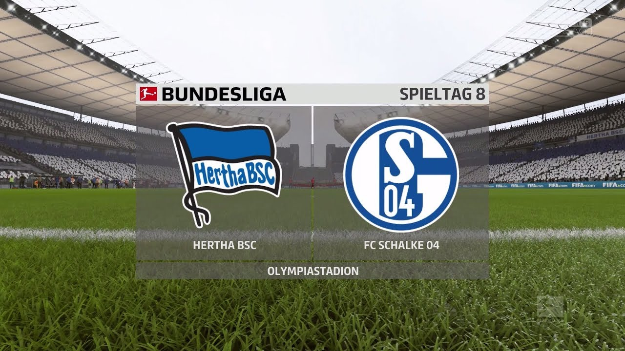 Fifa 18 Bundesliga Prognose Hertha Bsc Schalke 04