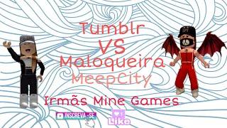 TUMBLR VS MALOQUEIRA- ROBLOX (Batalha de Looks-MeepCity)