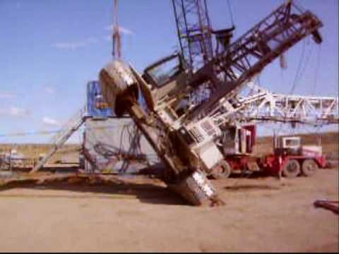 Crawler Crane Clean Up Youtube