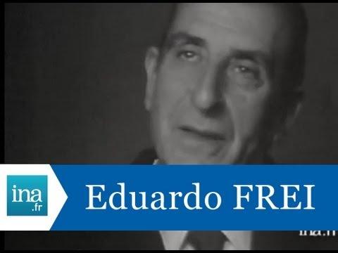 Interview d'Eduardo Frei quelques jours avant le coup d'état au Chili - Archive vidéo INA