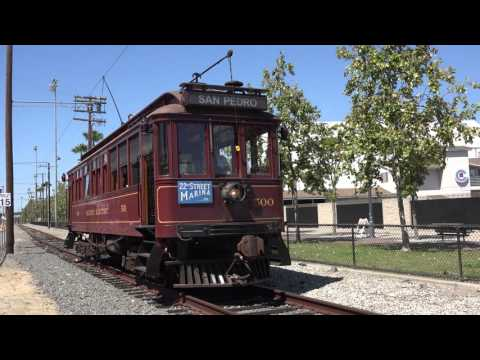 Waterfront San Pedro Red Car Line - The Last Day - 4K