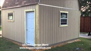 Garage Builders 16x16x14 Dallas, Tx