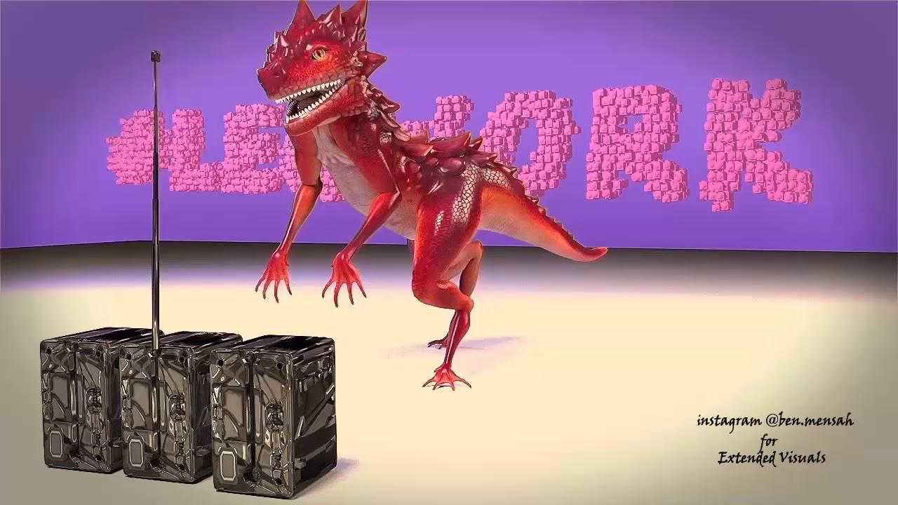 zanku legwork animation dance #legwork - Extended visuals 2019-03-09 14:43