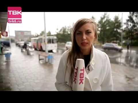 В маршрутку, в белом пальто. Проверка Новостей ТВК.