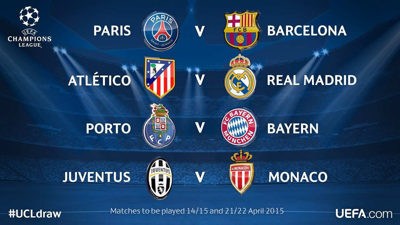 Cuartos de final champions league 2015 pronostico youtube for Cuartos de final champions