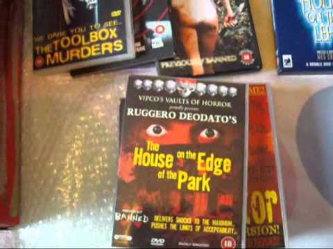 HORROR dvds  New updates  (banned horror classic 80s and 70s )