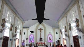 Nhà thờ đẹp bên  sông Gianh tỉnh Quảng Bình