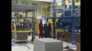 www.promcompany.ru Оборудование для производства пенобетона видео(Оборудование для производства пенобетона. Данное видео содержит основные этапы производства пенобетонны..., 2012-10-09T11:26:49.000Z)