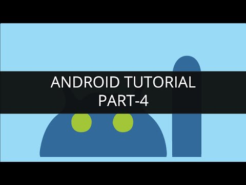 Android Tutorial - Content Provider - Contact Application (Part-4) | Edureka
