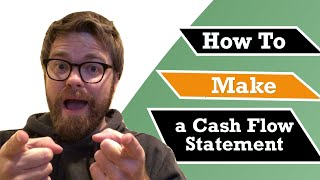 How to Make a Cash Flow Statement (Indirect Method)