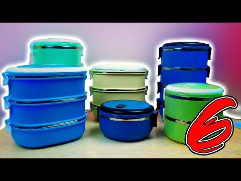 Тестирую герметичные ланчбоксы с Алиэкспресс для обедов и пикников!
